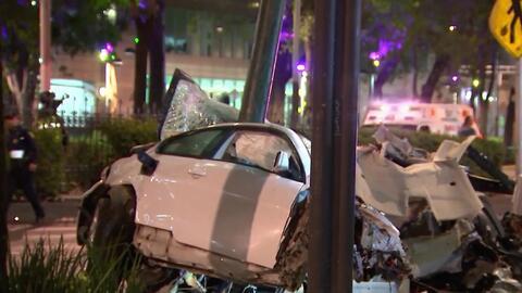 BMW 650i involucrado en el infame choque en Reforma el pasado viernes 31...