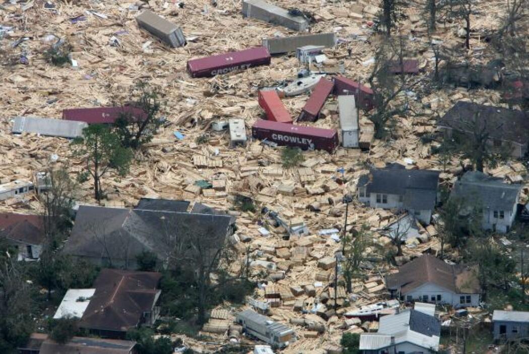Este jueves se cumplen ocho años de que el huracán Katrina, de categoría...