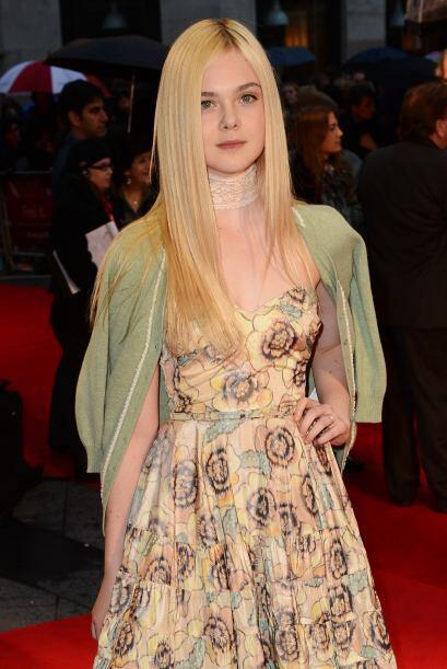 Elle en octubre de 2012, durante un festival de cine en Londres.  Aquí l...