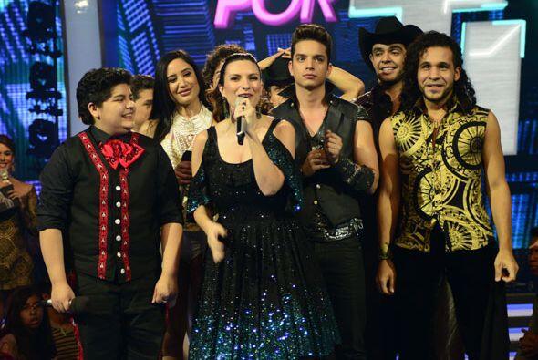 Laura Pausini cantó con los chicos de Va Por Ti.