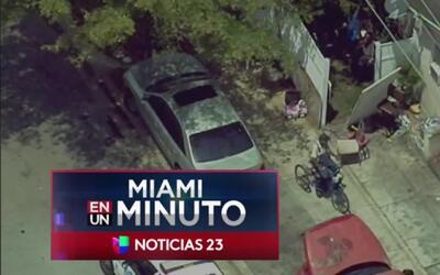 'Miami en un Minuto': policía de Fort Lauderdale detiene a un hombre señ...