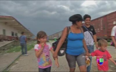 La angustiosa espera para migrantes que abordan 'La Bestia'