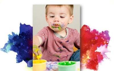 Desde temprano podemos introducir a los pequeños al mundo del arte de un...
