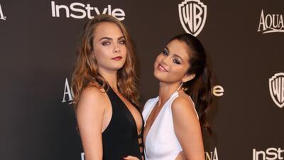 Selena Gomez y Cara Delevigne