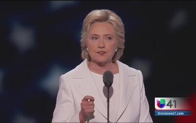 Nominación histórica de Hillary Clinton