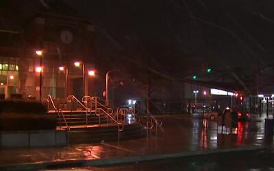 Lluvia, nieve y viento en Long Island, la zona más golpeada por la tormenta
