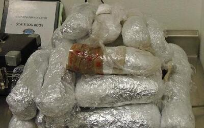 Decomiso millonario de drogas durante días festivos