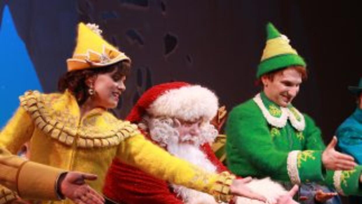 El musical Elf en Broadway