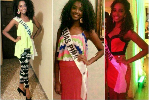 Yaritza Reyes, Miss República Dominicana, logró sorpender a todos.