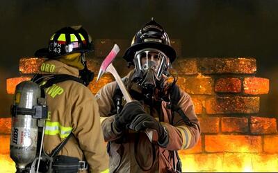 Bomberos combaten múltiples incendios