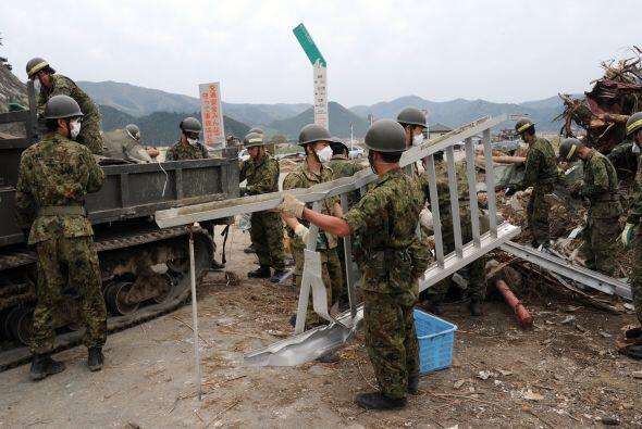 El terremoto destruyó toda la infraestructura del norte de Japón.