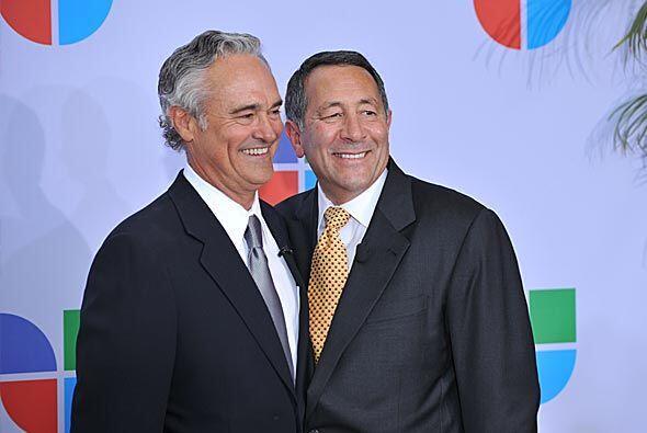Ray Rodríguez estuvo acompañado por Joe Uva, presidente y director ejecu...