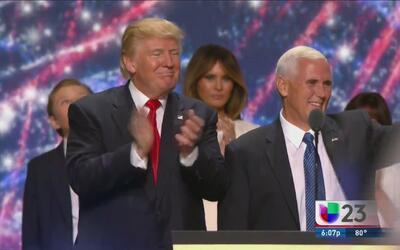¿De qué manera cerró la Convención Nacional Republicana?