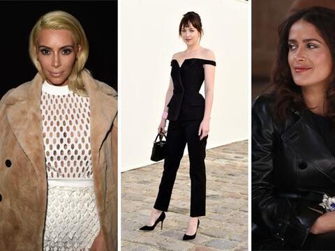 Las celebridades  han robado cámara en la semana de la moda. Los...