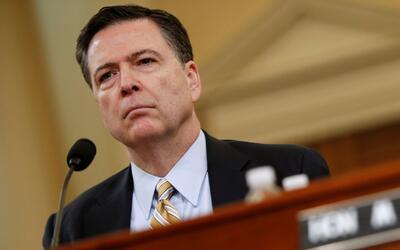 James Comey acepta comparecer ante el Comité de inteligencia del Senado...