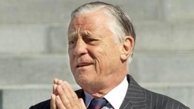Ben Bradlee, exeditor del diario The Washington Post.