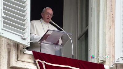 """""""No pierdan la esperanza por un mundo mejor"""" dijo el Papa a los migrante..."""