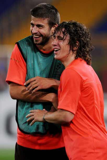 En la zaga barcelonista, la dupla Puyol-Piqué deberá tener...
