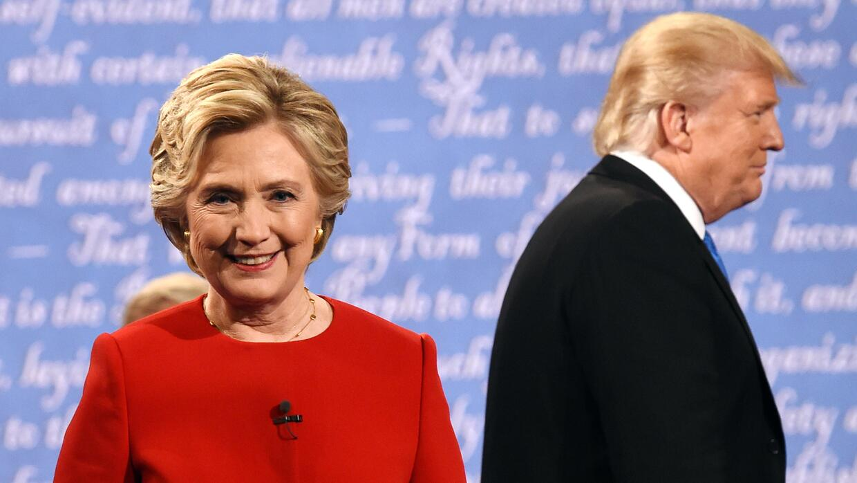Las frases clave del primer debate presidencial entre Clinton y Trump