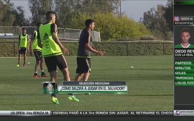 Así jugaría la selección mexicana frente a El Salvador