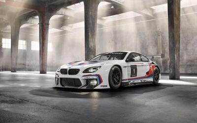 BMW Motorsport presentó en el Auto Show alemán, el BMW M6 GT3 2016.