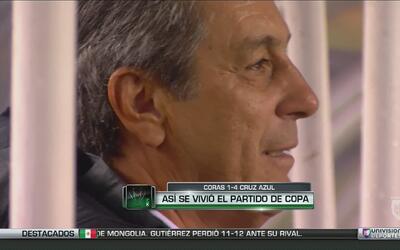 Tomás Boy y Cruz Azul encontraron la luz en la Copa MX