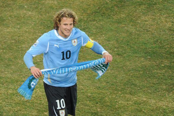 Uruguay sacó la cara por Sudamérica. Diego Forlán o...