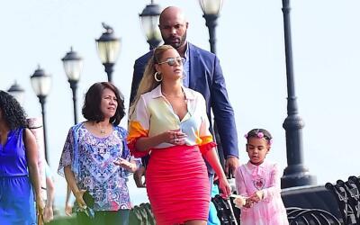 El lindo paseo en familia de Beyoncé