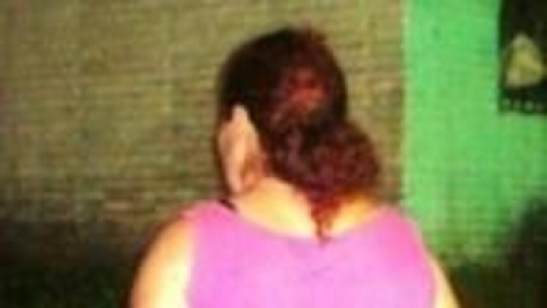 Fotografía de la sospechosa ofrecia por la Fiscalía.