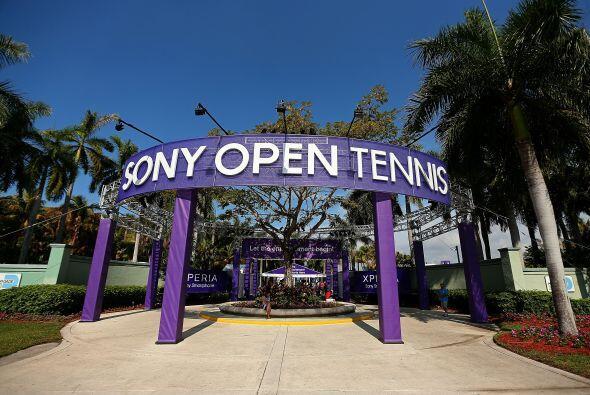 El centro de tenis de Crandon Park en Key Biscayne una vez más fu...