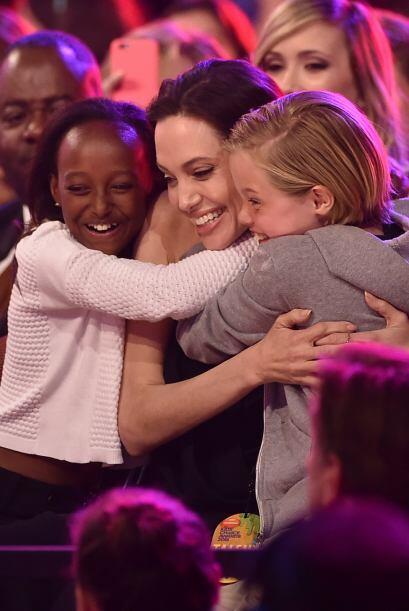 Y se dieron un lindo abrazo entre las tres.