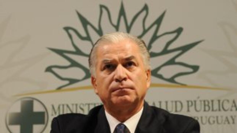 Jorge Venegas, ministro de Salud en Uruguay.