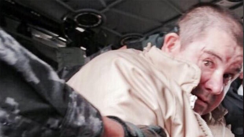 Joaquín 'El Chapo' Guzmán ya está en suelo estadounidense y mañana compa...