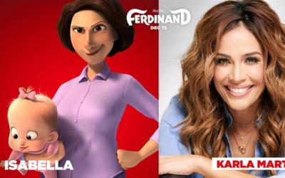 Karla Martínez, estará en el elenco de voces junto a Davee...