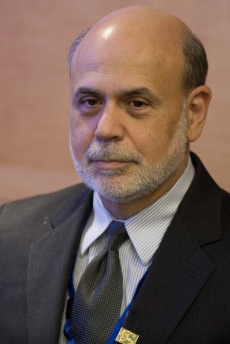 El actual presidente de la Reserva Federal, en el banco central de Estad...