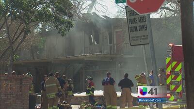 Incendio deja a varias familias desamparadas