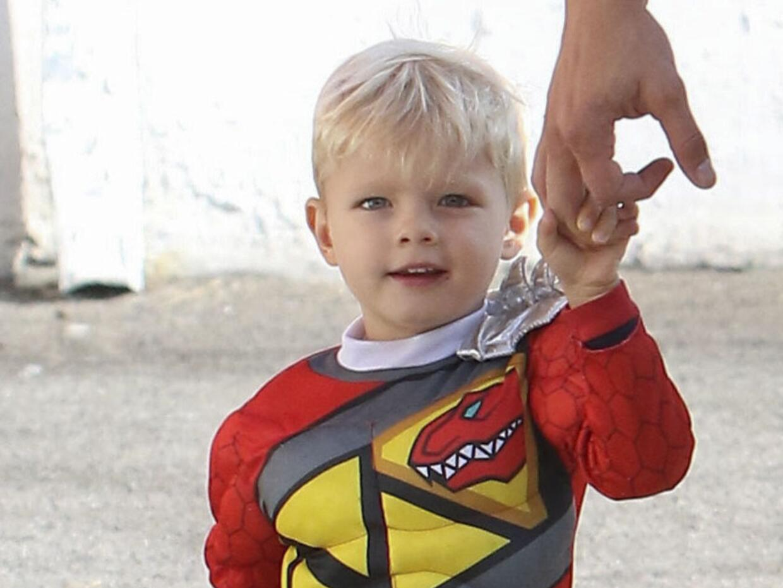 Josh Duhamel con su hijo Axl.