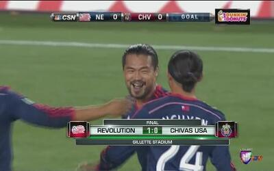 Victoria del Revolution 1-0 sobre las Chivas USA