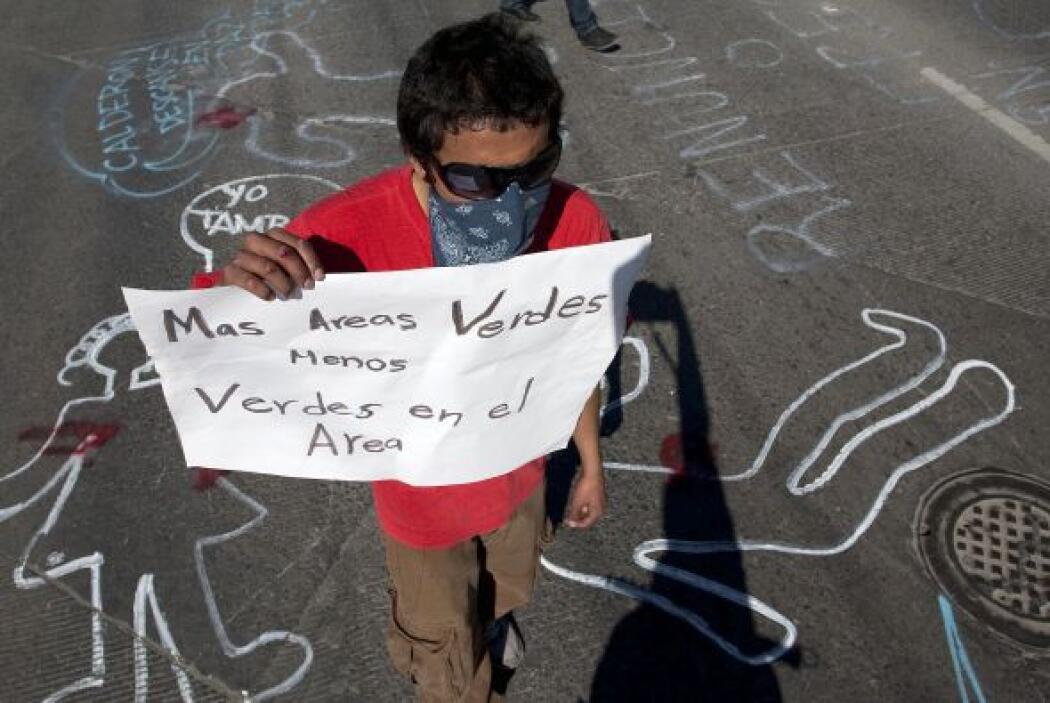 Las protestas no se hicieron esperar; muchas de ellas incluso en la capi...