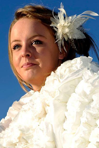 La novia, que actualmente está desempleada y no contaba con un gran pres...