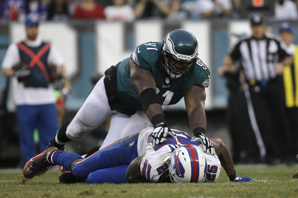 Los Philadelphia Eagles vencieron 23 - 20 a los Buffalo Bills para coloc...