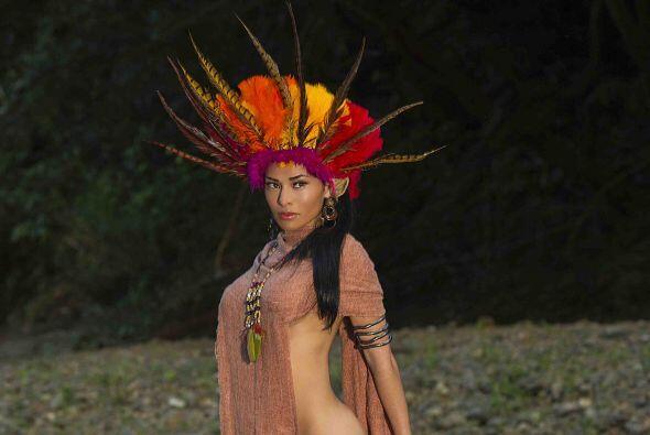 La mexicana Lisa Ruesga imitó a Pocahontas y dejó al descu...