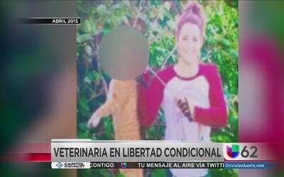 Veterinaria en libertad condicional por matar a un gato