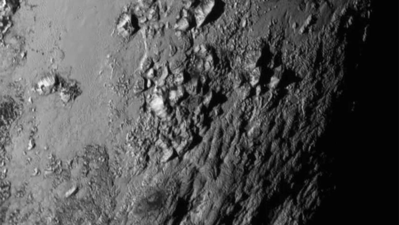 Montañas de Plutón