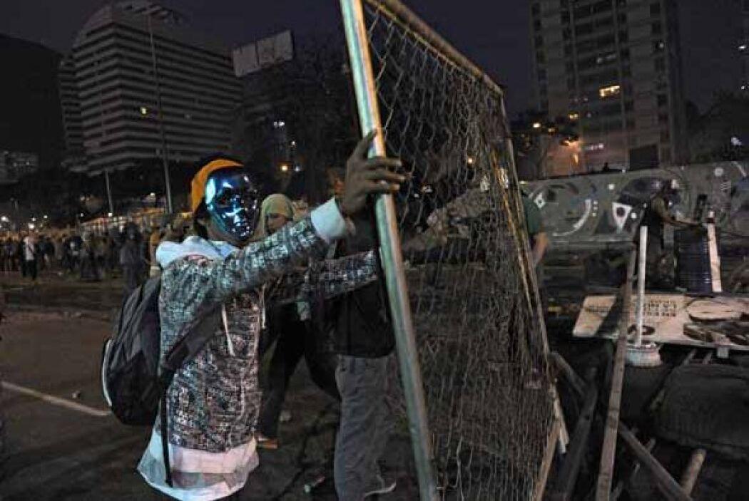 Las protestas de los venezolanos se basan en la falta de seguridad, la e...