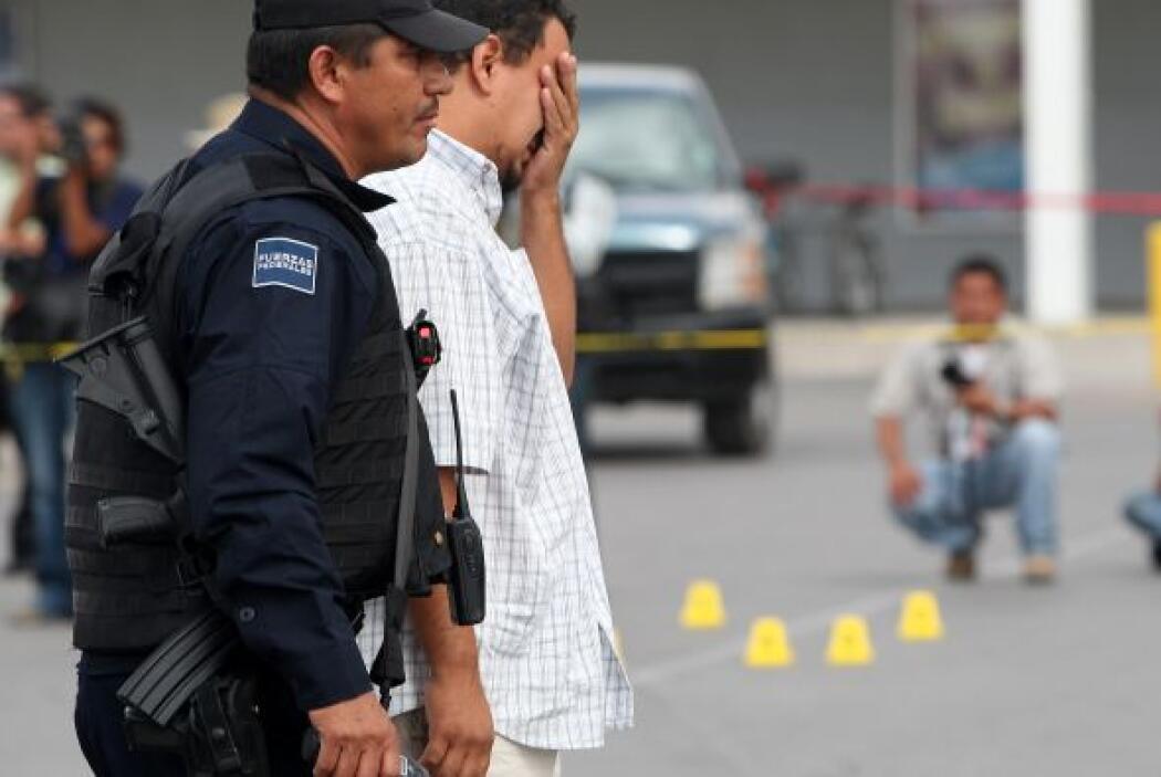 La disputa de los cárteles de la droga por el control de la plaza se inc...