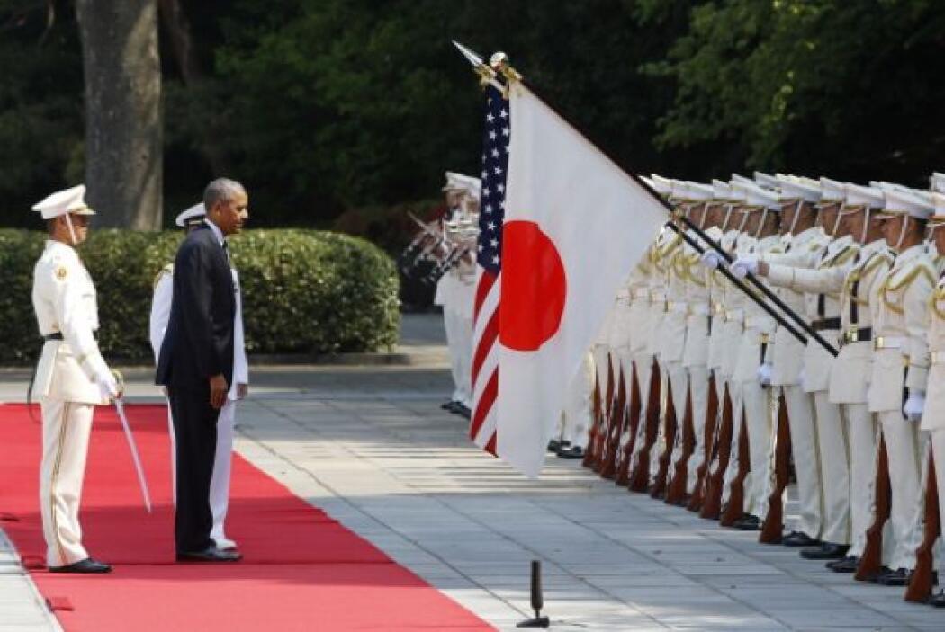 Durante su encuentro, Abe y Obama reafirmaron su compromiso a la hora de...