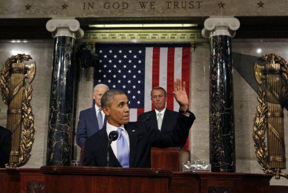 """En tanto, Obama afirmó que 2014 """"puede ser un año dec..."""