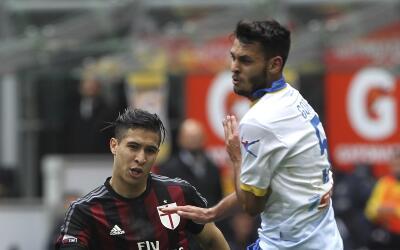 El Milan salvó empate ante el Frosinone