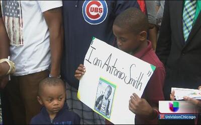 Realizan vigilia en memoria de niño asesinado